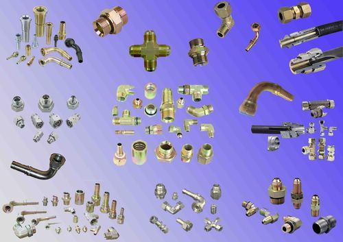 Hydraulic Fittings (Single Ferrule , Twin Ferrule & Adapters), Size: 1/2 inch, for Hydraulic Pipe