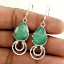 Stylish 925 Sterling Silver Turquoise Earrings