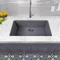 24 x 18 x 10 Handmade 304 Grade Sink 304 Grade Stainless Steel Sink  (Matt Finish)