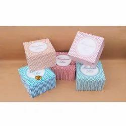 2 Cavity Cupcake Box Zig-Zac Lines