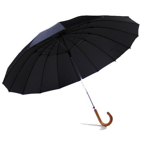 Yellow & Blue Polyester Golf Umbrella, Size: 30 inch