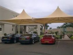 Ferrari Tensile Car Parking Structure