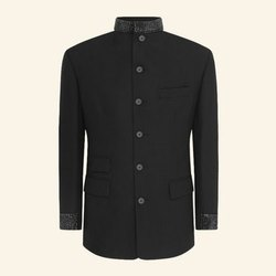 Party Wear Plain Mens Jodhpuri Coat, Size: S-XXL