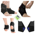 Adjustable Ankle Support Wrap and Stabilizer