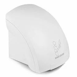 Relycure White Hand Dryer, For Hotel, Size: Adjustable