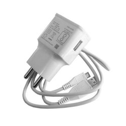 White Travel Mobile Charger