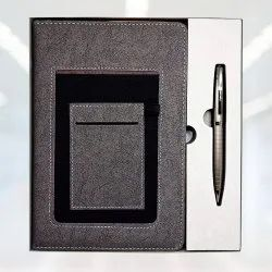 2 in 1 Gift Set Pen and Diary - Giftana