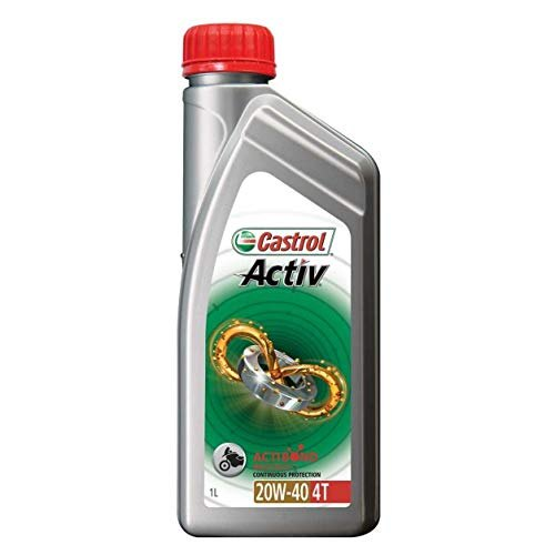 Bike Upto 150 Cc Castrol Activ 20W40 4T Engine Oil, 20 Pieces, Unit Pack Size: 1 Litre