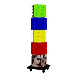 HESH Multicolor Rotating Sunglass Stand Display, Size (Dimensions In Length X Breadth X Height): H55 * W16 * D12 Inch