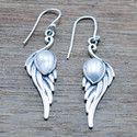 Pearl Gemstone 925 Sterling Silver Wholesale Jewelry Earring We-5474