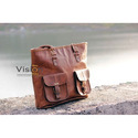 Brown Real Vision Made Fancy Leather Bag, Pure Leather: Yes