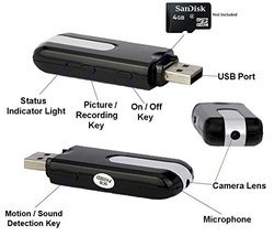 Spy Pen Drive Camera
