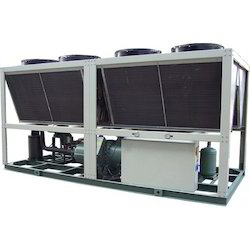 Semi-Automatic Three Phase Steel Screw Type Air Cooled Chiller