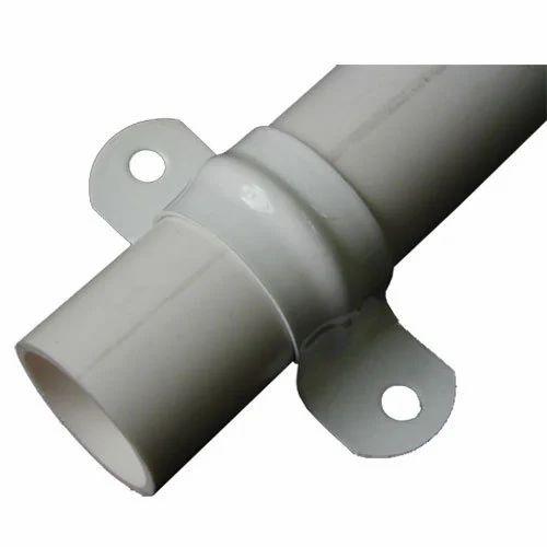 White PVC Pipe Saddle, National Agencies | ID: 17108182073