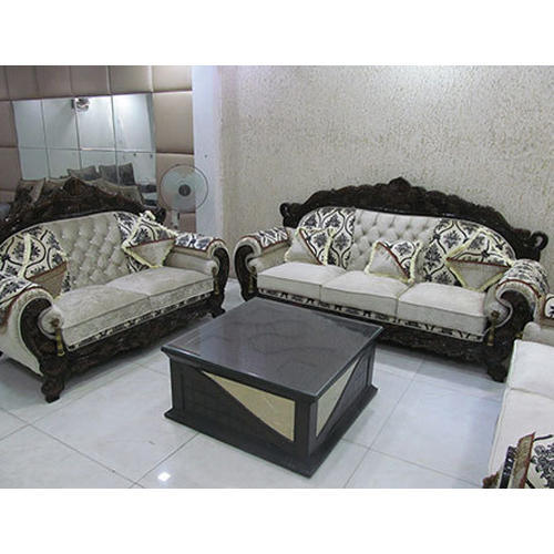 Wood And Rexine 5 Seater Designer Sofa Set Rs 40000 Set Id