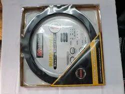 Black Rexine Round Steering Wheel Cover, Packaging Type: Packet