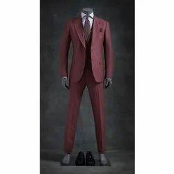 Formal Men Super 120's Merino Wool 3PC Suit