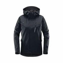Ladies Plain Hooded Jacket