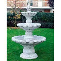 Rb Marble And Granite White Marble Fountain, 5d, For Garden