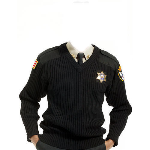Black Security Guard Sweaters Rs 220 Piece Baba Uniforms Id