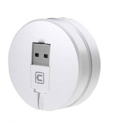 3 Feet Travel Retracable Fast Data Transmission and Charging USB Cable