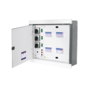 Metal Hpl Horizontal Type Power Distribution Board, 4, Ip Rating: Ip20