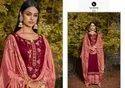 Kessi Kalarang Butterfly Jam Silk Cotton Embroidery Suits Catalog
