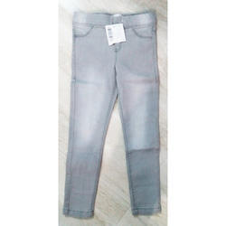 Girls Denim Jeggings, Age: 14 Years