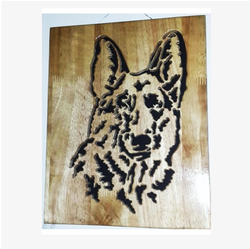 Wildlife Wooden Carving WL7
