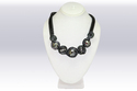 Umangnx Black Color Imported Stone Work Necklace