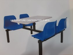 Four Seater Office Canteen Table