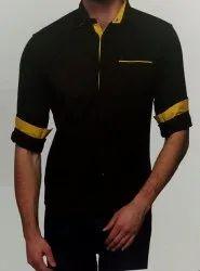 Cotton Shirts & T-Shirts Men wear, Size: Large