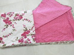 Floral Printed Cotton Mul Mul Double Bed Dohar