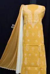 Lucknowi Cotton Suit