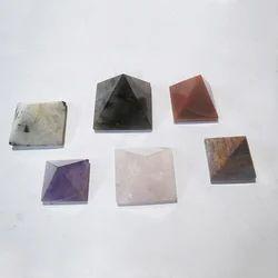 Gemstone Reiki Pyramids