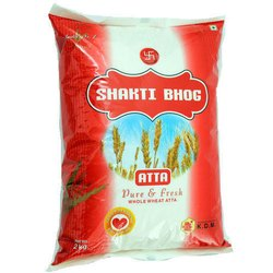 Indian Whole Wheat Shakti Bhog Atta, Packet, Packaging Size: 10 Kg