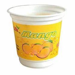Disposable Plastic Mango Juice Glass
