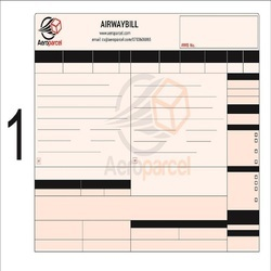 Black and White Automatic Airway Bill Printing with Barcode, Model No.: Alsai-awp