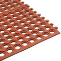 Inter Connecting Anti Skid o Floor Mat (Red)