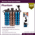 Stainless Steel Bottle (750ml)