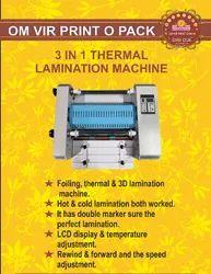 3 IN 1 THERMAL LAMINATION MACHINE