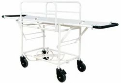 Two Side Flap Stretcher Trolley