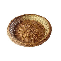 Bamboo Round Willow Basket