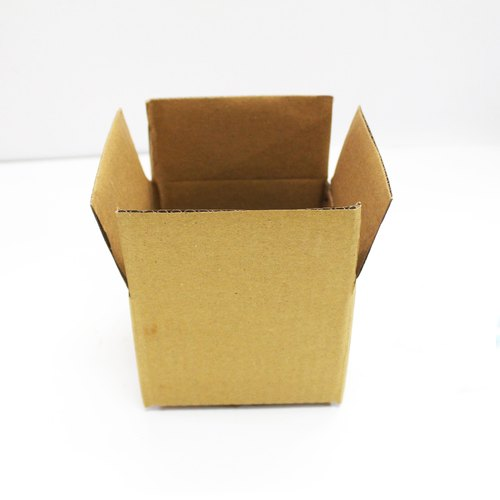 4x4x3 Inch Brown Packaging Corrugated 3 Ply Box