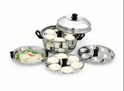 18 idli Pot with Steamer Plate