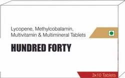 Lycopene Methylcobalamin Multivitamin & Multiminerals Tablets