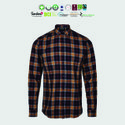 Eco Cotton Mens Checked Shirts