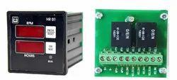 RB Digital Tachometer HR 01 Hour Meter, For Speed Measurement, 8-30 V Dc