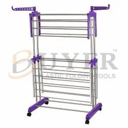 buyer cloth drying stand steel 2 in 1 & butterfly