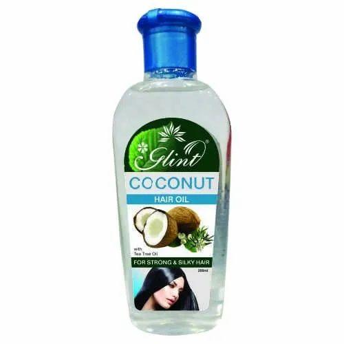 Glint Coconut Hair Oil with Tea Tree Oil